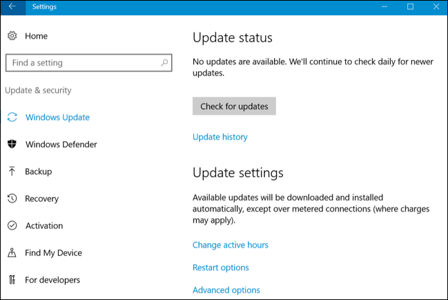 search not working on windows 10