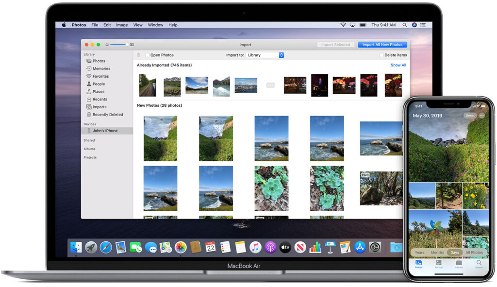 how to transfer videos from iPhone to mac