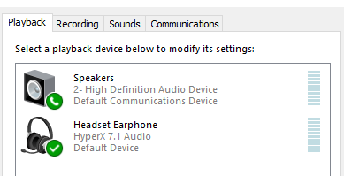 routing PC sound from Mic to speakers