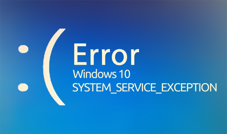 System Service Exception BSOD