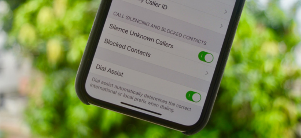 Only Allow Calls From Contacts